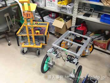 大型4輪ロボット(フレーム)