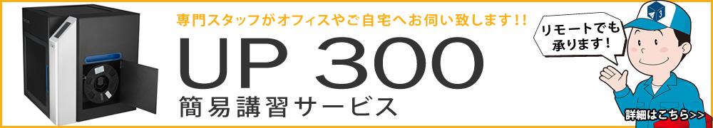 UP 300 3Dプリンター 初期設定&簡易講習サービス